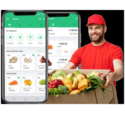 Offer world class customer experience with our Instacart clone app