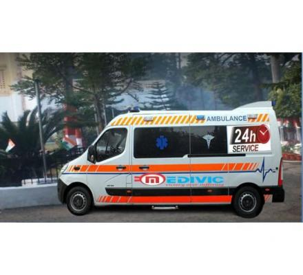 Pick Reliable Patient Transfer Ambulance Service in Darbhanga by Medivic