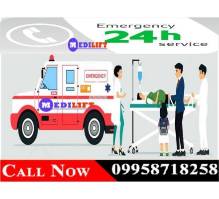 Looking For Ambulance Service in Samastipur with Economical Rate