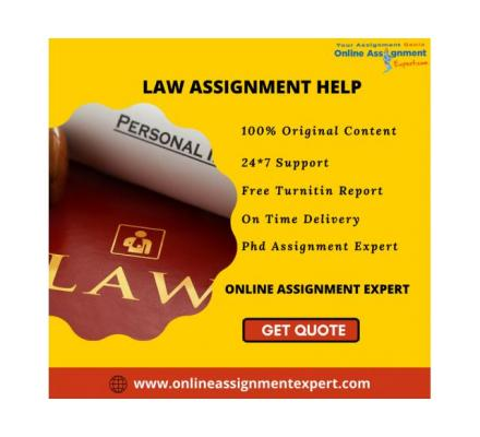 Reasons to choose our service for law assignment help online