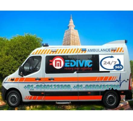 Take Superior Ambulance Service in Gumla with ICU Facility by Medivic