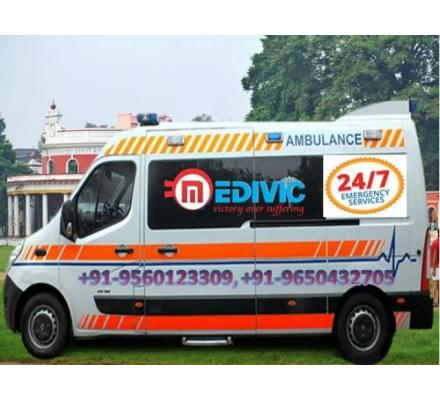 Hire Low-Budget Ambulance Service in Hazaribag with ICU Setup by Medivic