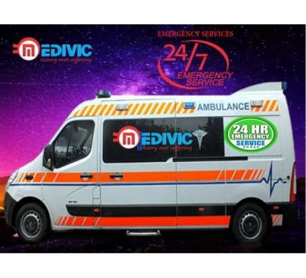 Book Hassle-Free Patient Transfer Ambulance Service in Gaya by Medivic