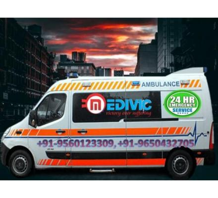 Take Medical Emergency Ambulance Service in Darbhanga by Medivic