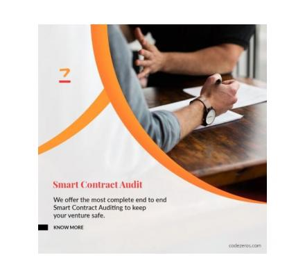 Smart Contract Audit Services Smart Contracts Development Company