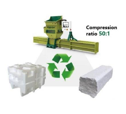 GREENMAX Polystyrene Compactor Apolo Series