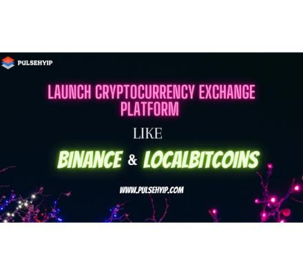 Launch your Own Crpto Exchange like Binance and Localbitcoins