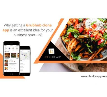 Develop a Grubhub clone app with extensive features and functionalities