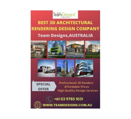 3D Architectural Rendering Services in Australia