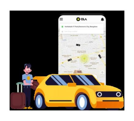 Rule the on-demand ride-hailing industry with the Ola clone app