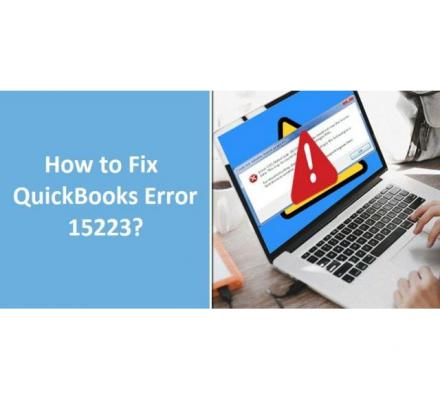 Deal with errors like Quickbooks error 15223 with free expert assistance