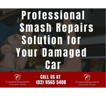 Professional Smash Repairs Solution for Your Damaged Car
