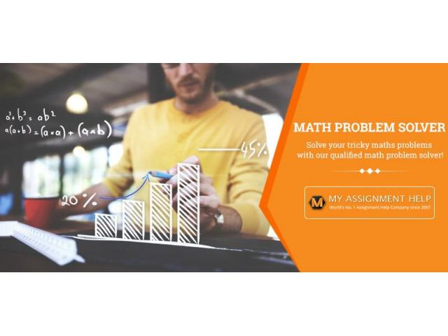 Math Problem Solver - My Assignment Help