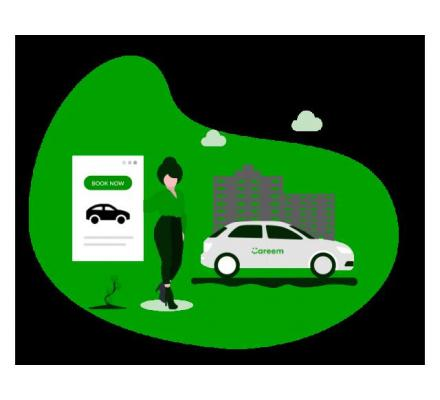 Get the next gen-on-demand ride-hailing app like Careem imbibed with the best in class features.