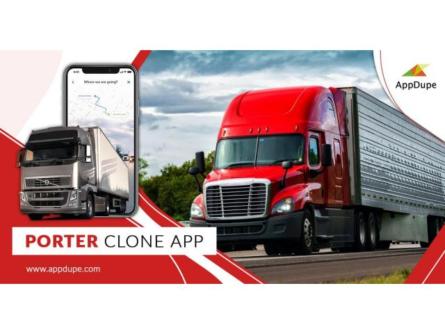Get in touch with us to learn more about porter clone app solutions