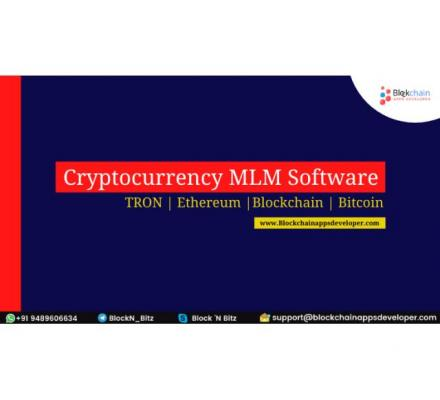 Develop Your Smart Contract Based Cryptocurrency MLM Software On TRON, Ethereum, EOS network