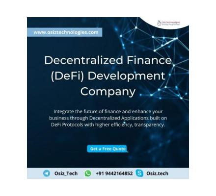 Reshape the future of Finance with Decentralized Finance
