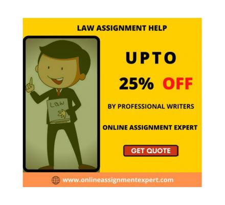 Get Bumper Discounts by Availing Law assignment help here!