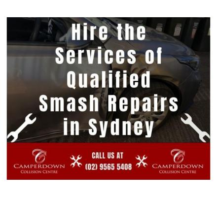 Hire the Services of Qualified Smash Repairs in Sydney