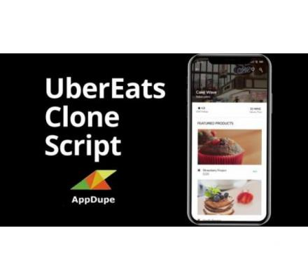 Contact Us to start your UberEats clone app development