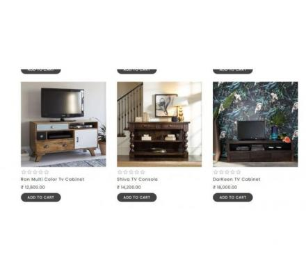 Buy Amazing TV Unit at Great Price from thehomedekor.in
