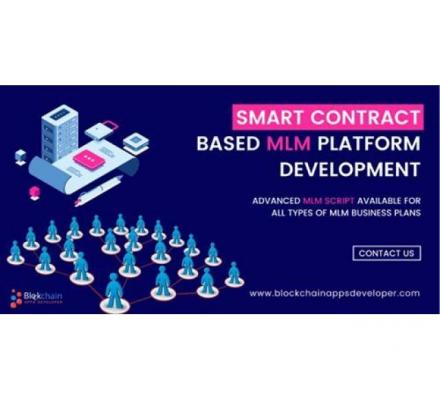 Ready to Launch Your Smart Contract Based MLM business on Tron network?