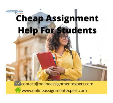 Cheap assignment help is available here at Huge Discounts!