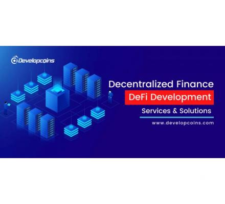 DeFi Development Company - Developcoins