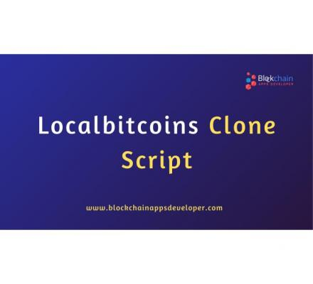 Ready to Launch A Escrow based Exchange Platform Like LOCALBITCOINS Within a Week!!!