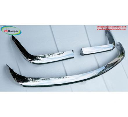 Fiat 124 Spider bumper 1966–1975 in stainless steel