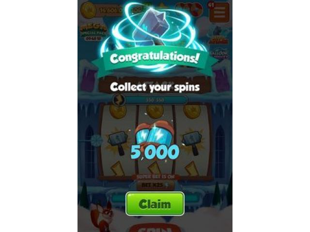 Free Spin Coin Master 2021
