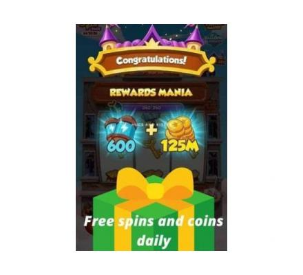 Coin Master Free Spin Link Today