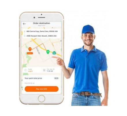 Initiate your Uber For Courier App Development to gain instant traction