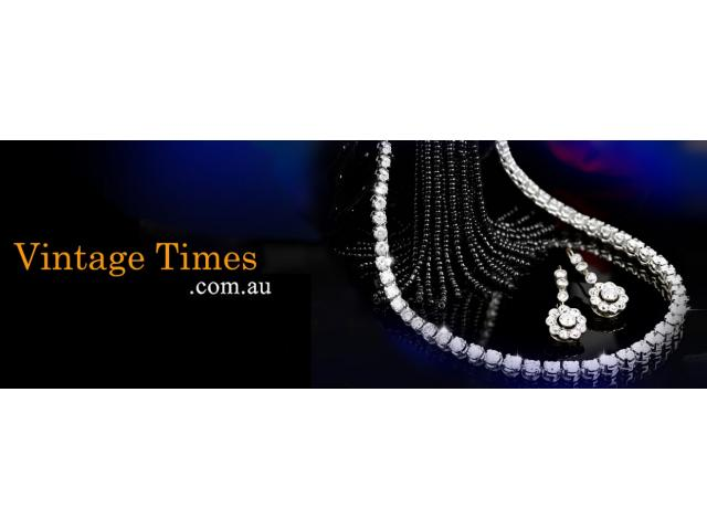 White gold necklace low Prices on Jewellery Online at Vintage Times
