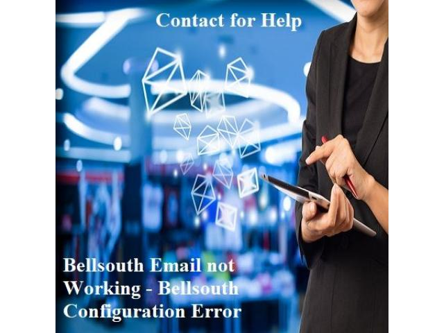 Why is my BellSouth email not working in Outlook?