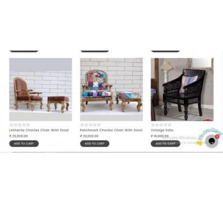 Buy Quality Sofa Set from the Best Furniture Store thehomedekor.in