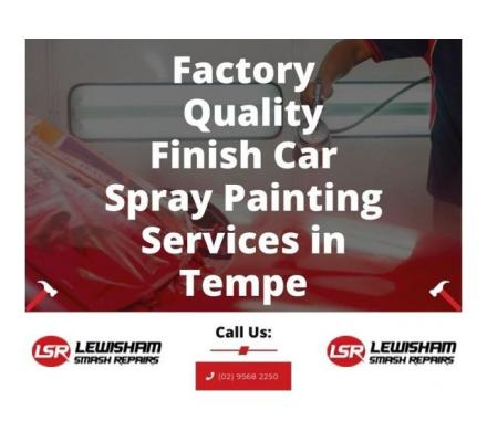 Factory Quality Finish Car Spray Painting Services in Tempe