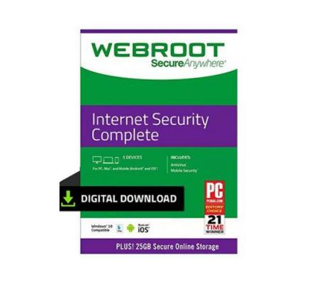 Buy Webroot SecureAnywhere Internet Security Complete - SoftBest2Buy