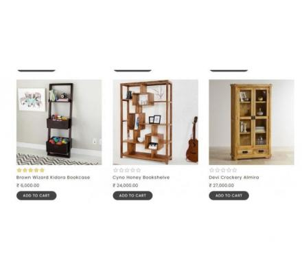 Bring Quality Bookshelf To Your Home From thehomedekor.in