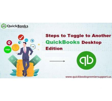 How to Toggle to Another QuickBooks Edition?