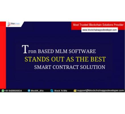 TRON Smart Contract MLM Software | TRON Smart Contract MLM - BlockchainAppsDeveloper