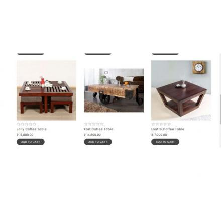 Bring home quality coffee table at cheap price from thehomedekor.in