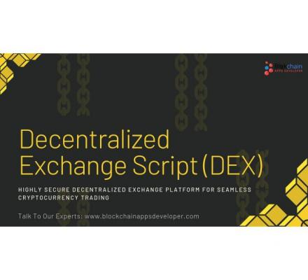 Decentralized Exchange Script