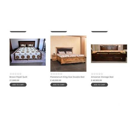 Bring Home Quality Beds at Amazing Price from thehomedekor.in