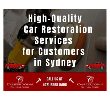 High-Quality Car Restoration Services for Customers in Sydney