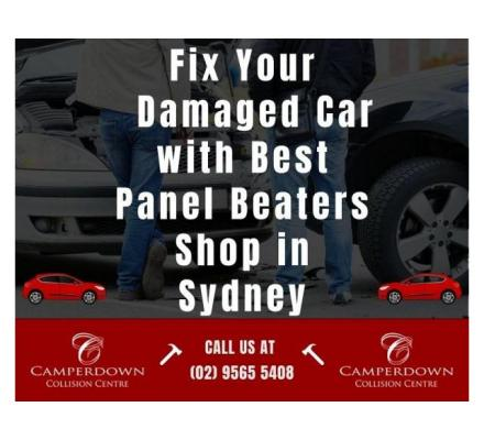 Fix Your Damaged Car with Best Panel Beaters Shop in Sydney