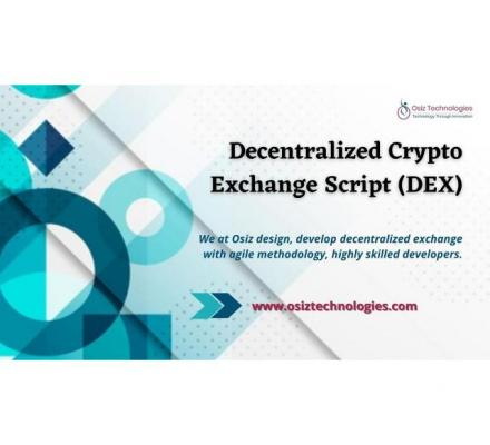 Launch your Decentralized cryptocurrency exchange platform