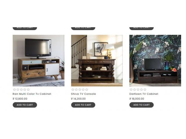 Buy Amazing TV Unit Furniture Online from thehomedekor