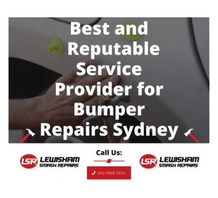 Best and Reputable Service Provider for Bumper Repairs Sydney