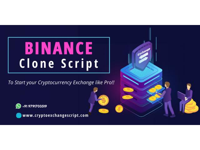 Binance Clone Script to Start a Crypto Exchange like Binance